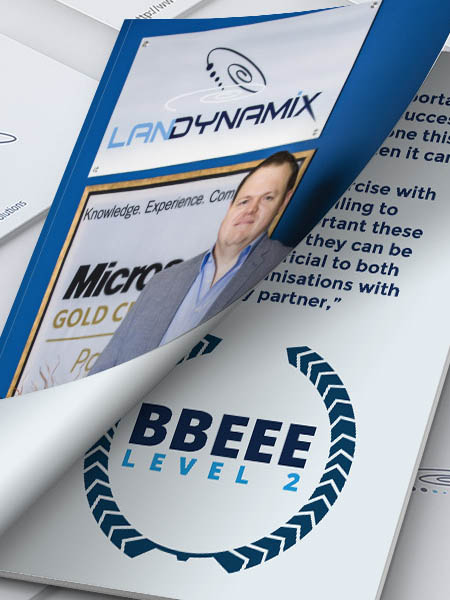LanDynamix-achieves-level-2-BEE-certification